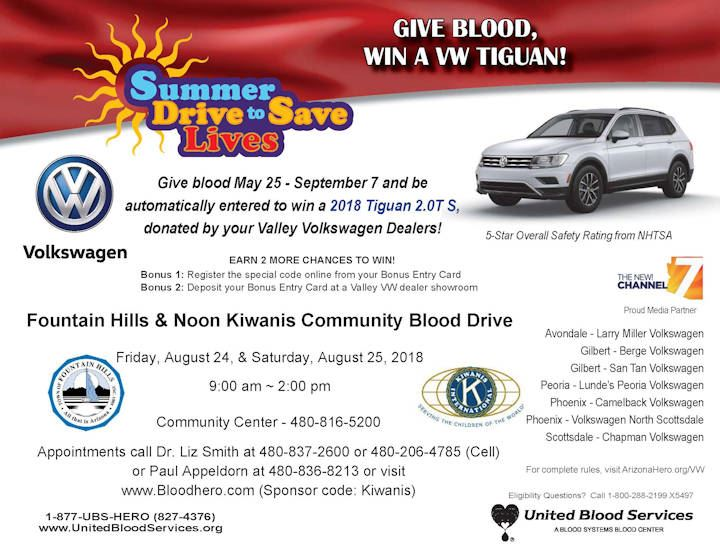 Blood Drive - August 2018
