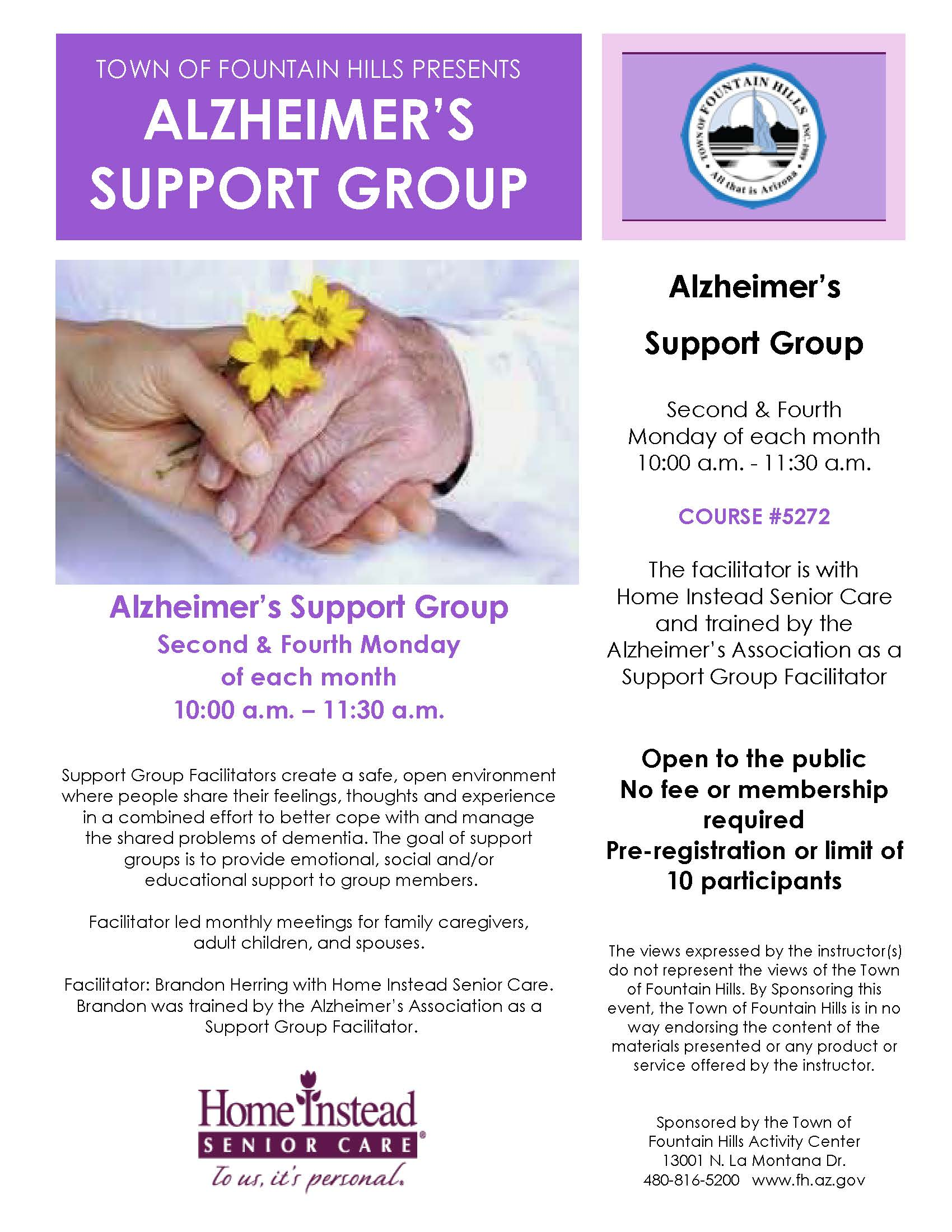 Alzheimers Support Group