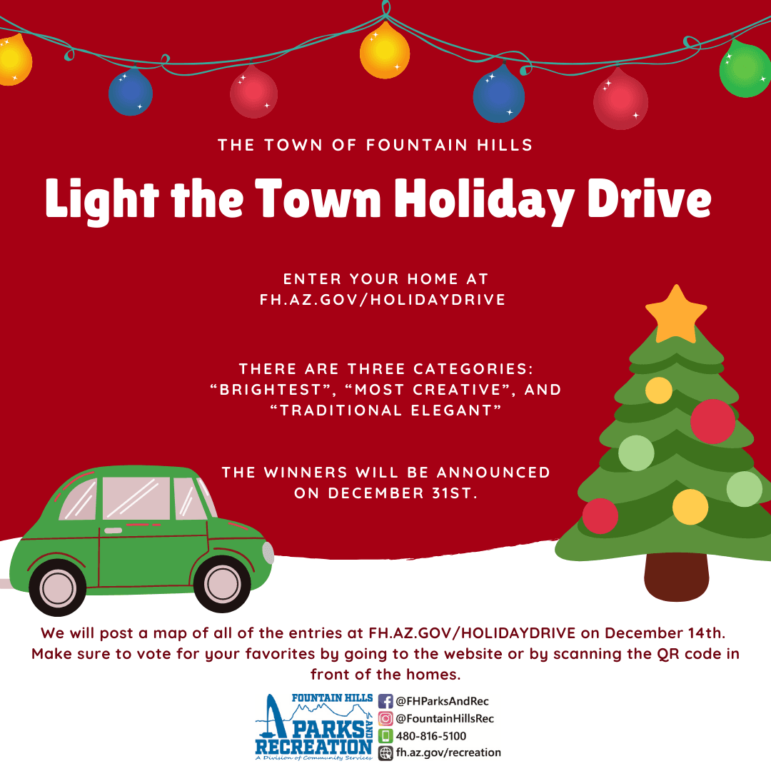 Light the Town Holiday Drive